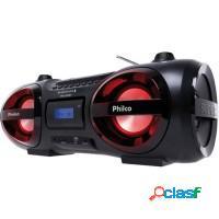 Rádio portátil philco cd player mp3 bluetooth v3