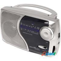 Rádio tv am fm estéreo, saída p/ fone de ouvido