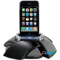 Caixa de som portátil dockstation iphone, ipod, m
