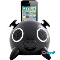 Caixa de som portátil iphone4/4s/ipod usb sd card