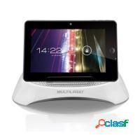 Caixa som portátil iphone, ipad e tablet multilas