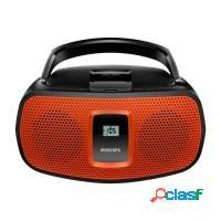 Cd player rádio portatil philips usb am/fm/mp3 re