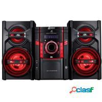 Mini system lenox cd/fm/usb 50w entrada microfone