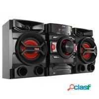 Mini system lg cd player rádio am/fm dual usb mp3