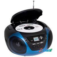 Som portátil cd player am/fm aux dazz