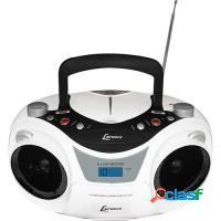 Som portátil cd player am/fm/mp3 -- lenoxx
