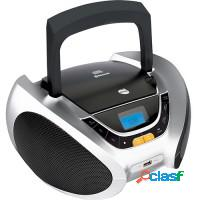 Som portátil cd player fm fm buetooth dazz