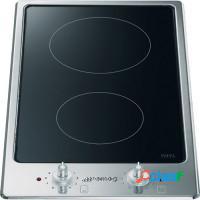Fogão elétrico cooktop indução inox 2 bocas