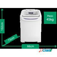 Lavadora de roupas eletrolux 13kg c/ turbo lavagem