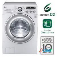 Lavadora + secadora de roupas lg 10kg - branca