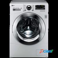 Lavadora + secadora de roupas lg 10kg painel blue