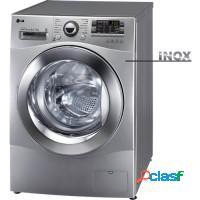 Lavadora + secadora de roupas lg 8.5kg painel blue