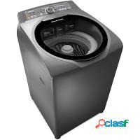 Lavadora de roupas profissional 15kg c/água quent