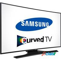 Smart tv 55 3d led curve samsung quad core full hd