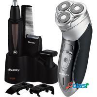 Kit barbeador elétrico + aparador - malorry