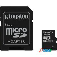 Cartao de memoria classe 4 sd/sdhc - kingston 16gb