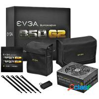 Fonte atx 850w real evga gold - real