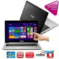 Notebook asus intel core i3 2gb ram hd 500gb wifi