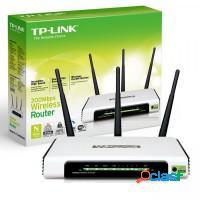 Roteador tplink 300 mbps 3 antenas wifi 5dbi