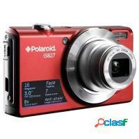 Câmera digital polaroid vermelha, 16mp, lcd 2,4 z