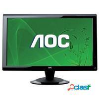 Monitor 18 aoc widescreen c/ multimídia, caixa so