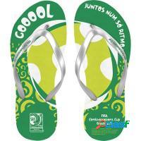 Sandália oficial (chinelo) copa brasil 2014
