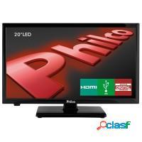 Tv 20 philco c/ receptor digital hdmi usb vga hd s