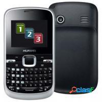 Celular 3 chips qwerty, câmera 1.3mp, mp3/mp4 e f