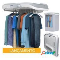 Secadora de roupas com função aquecedor de ambie