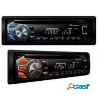 Som automotivo pioneer cd player com usb, entrada