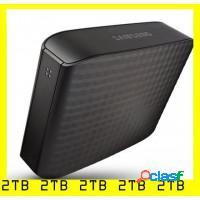 Hd externo samsung 2tb usb 3.0 plug and play