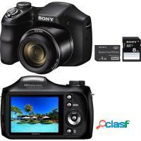 Câmera digital e filmadora sony 20mpx zoom 26x
