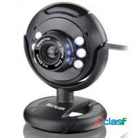 Web cam multilaser 30mm com controle de luminosida