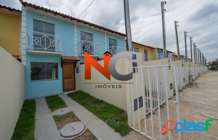 Casa de condomínio com 2 dorms, campo grande, rio de janeiro - r$ 201.000,00, 120m² - codigo: 207