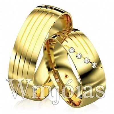 Alianças de casamento wm2924