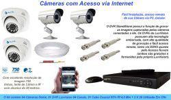 Cameras de segurança – visualização e monitoramento via