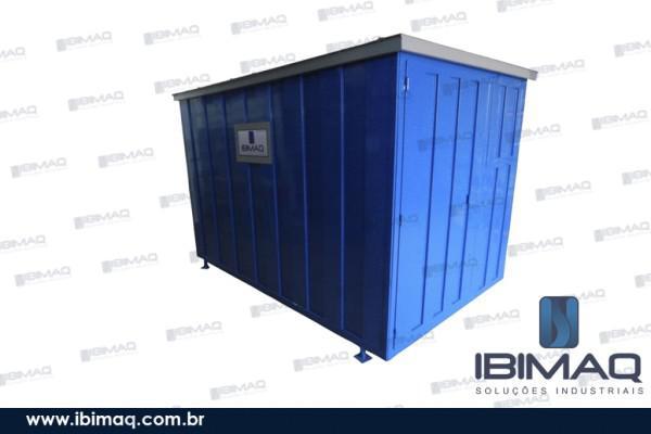 Container fixo/desmontável para obras