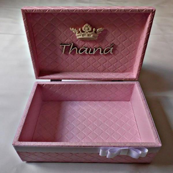 Caixa organizadora thainá.