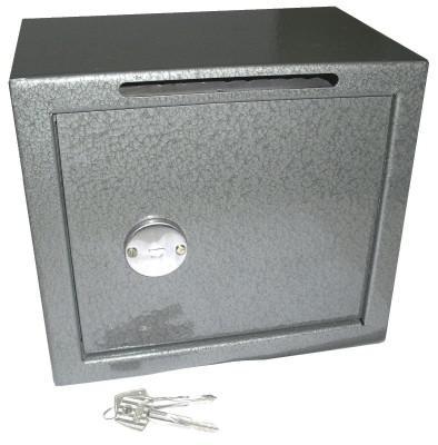 Cofre mecânico mini box de fixar com boca de lobo