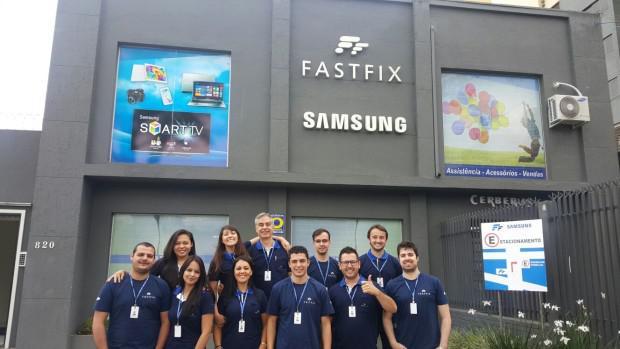 Fast fix – samsung – assistência técnica autorizada em