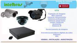 Instalação de cameras de segurança – acesso internet