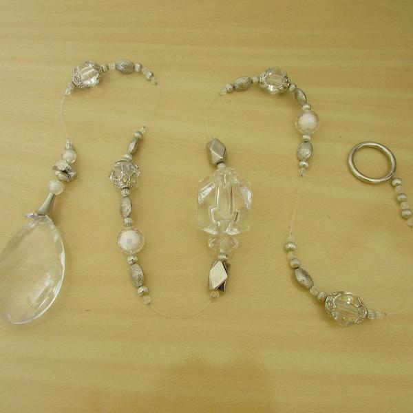 Pendulo decorativo prata