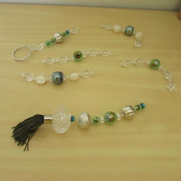 Pendulo decorativo verde
