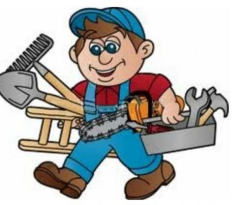 Serviços gerais – manutenção, instalação e reparos