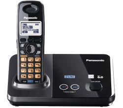 Telefone sem fio – para 2 linhas panasonic