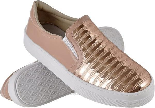 Tenis feminino sapatenis sapatilha iate cores brilhantes