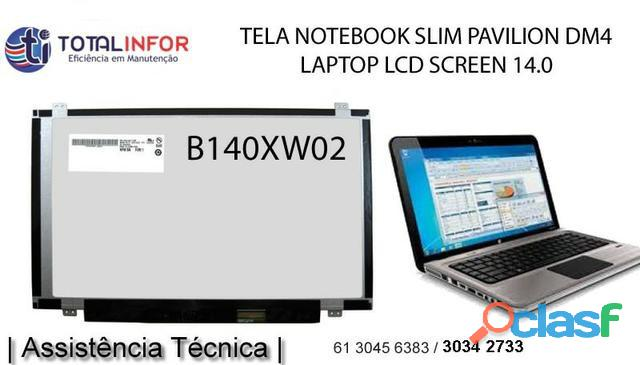 Tela de notebook quebrada‎? tela 14.0 hd 1366×768 nova original