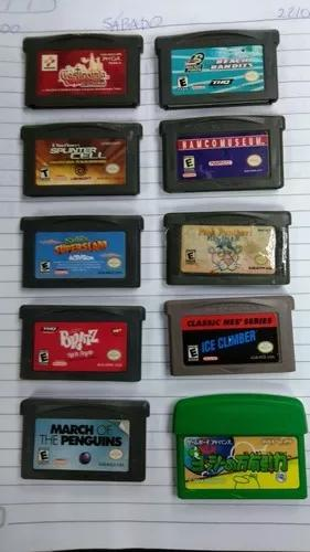 24 jogos de game boy advance