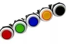 Botão redondo acrílico c/ micro jogo com 10 peças p/