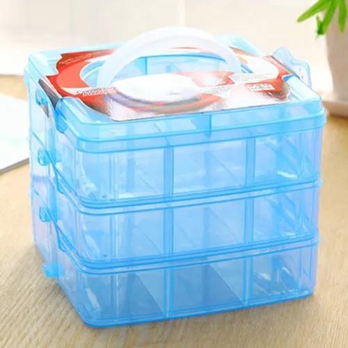Caixa armazenamento portátil caso organizador armazenamento